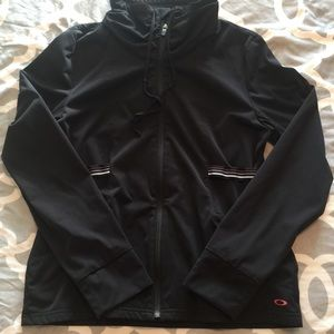 Oakley fitted athletic jacket